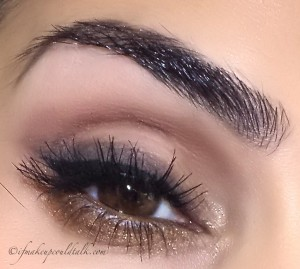 Giorgio Armani Eye and Brow Maestro 2 Wenge Wood used on the brows and as an eyeliner/eyeshadow.