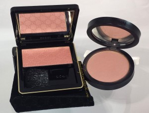 Gucci Nude Freesia Sheer Blushing Powder and Giorgio Armani Sheer Blush 10 Beige.