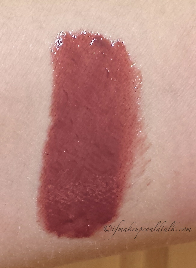 Chanel Rouge Allure Gloss 20 Audace swatch
