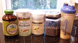 Things I Have Been Loving:  Volume 2. My post workout shake with Psyllium.