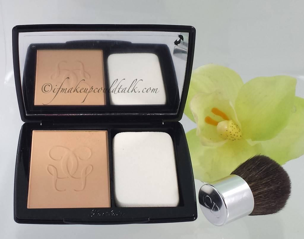 Guerlain Lingerie De Peau Nude Powder Foundation 03 Beige Naturel.