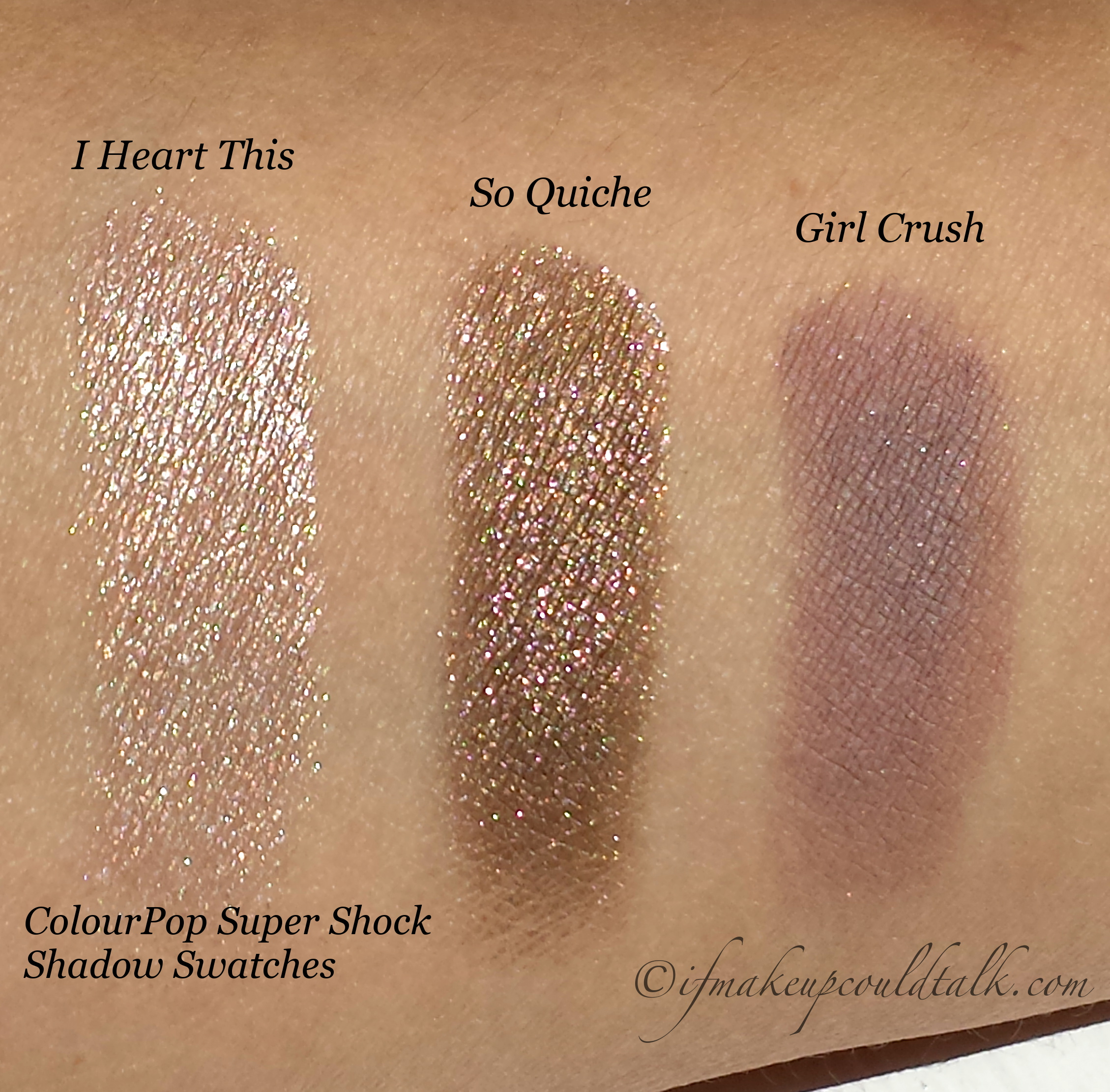 ColourPop Super Shock Shadows are Shockingly Fantastic! - If Makeup ...