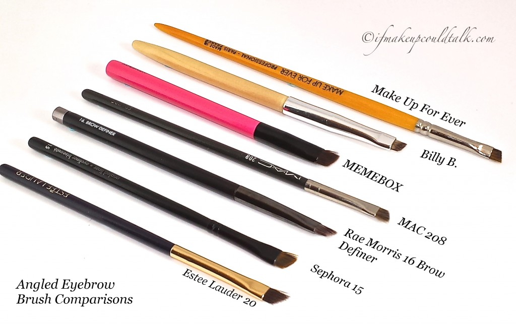 Angled Eye Brow Brush Comparisons