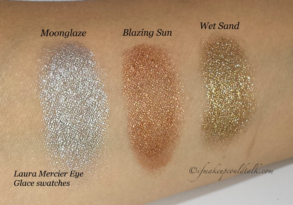 Laura Mercier Eye Glace swatches