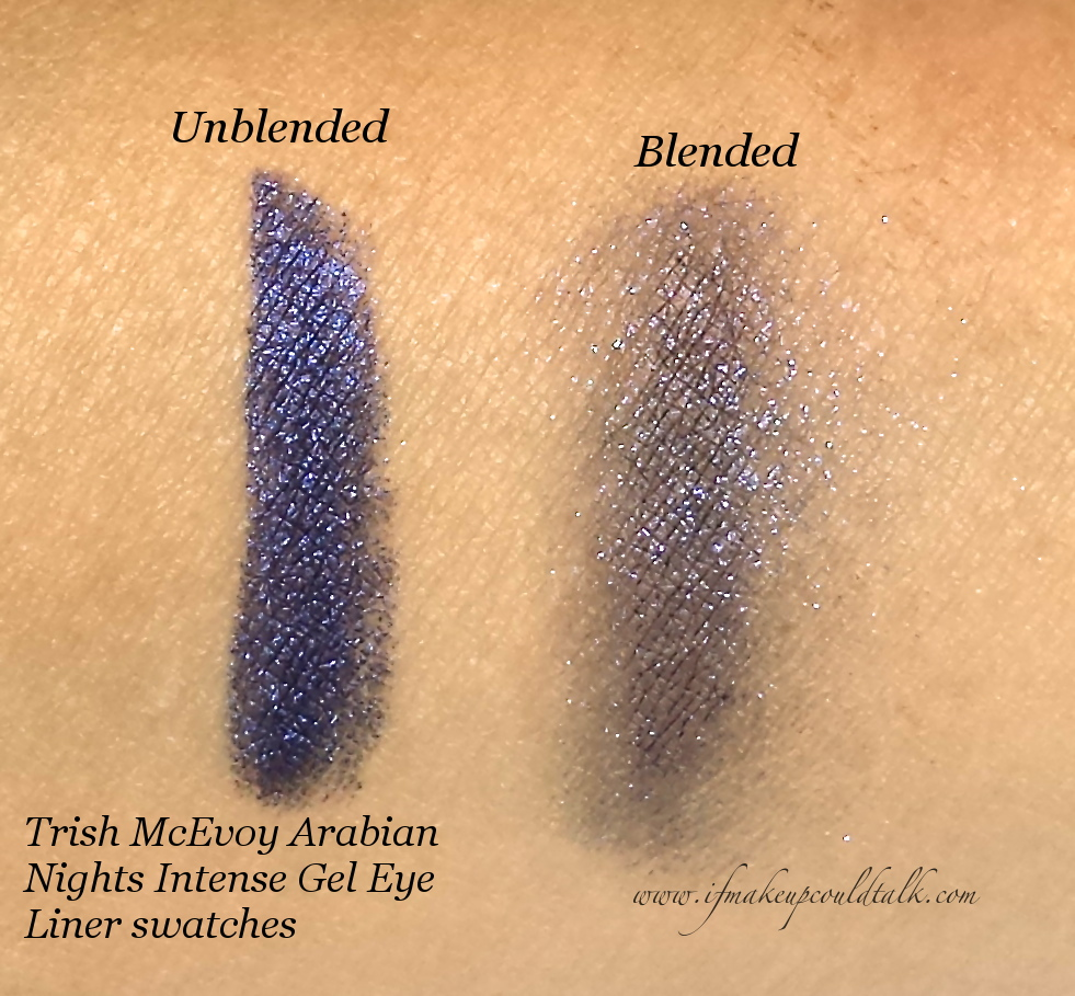 Trish McEvoy Arabian Nights swatches.