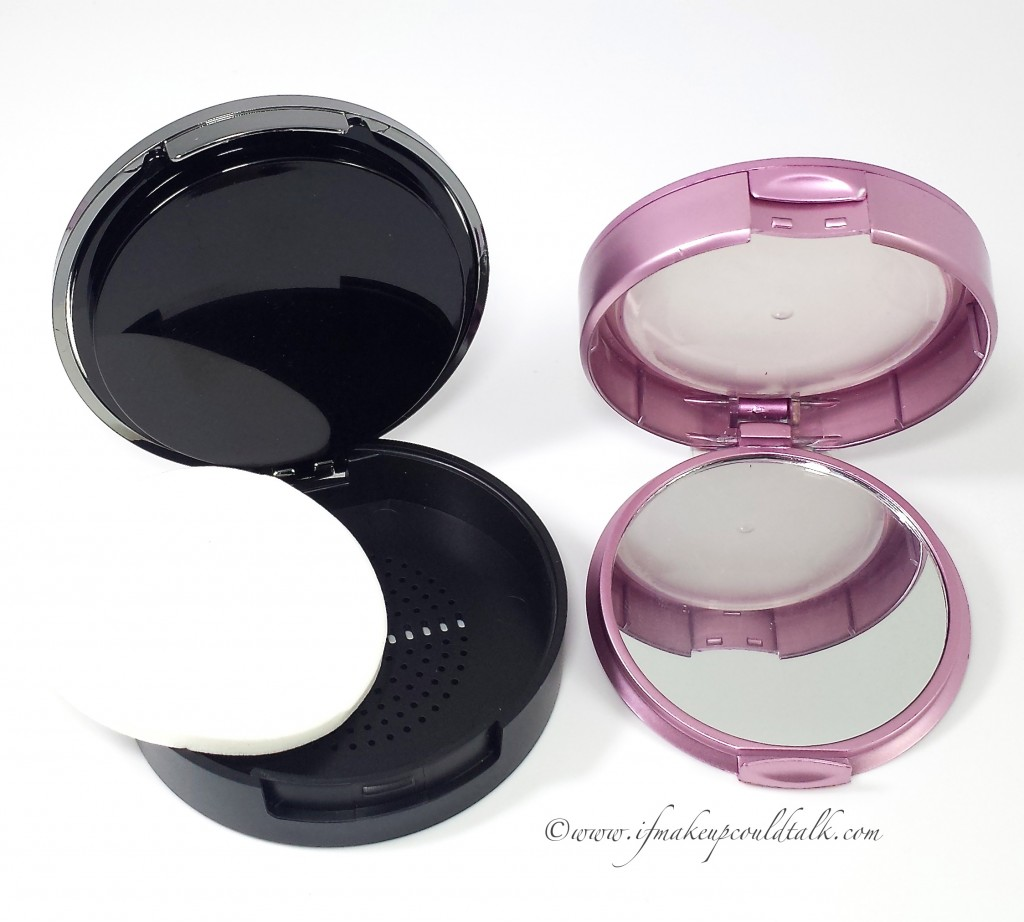 Comparison: Eve Pearl Invisible Finish Powderless Powder vs. Mally Beauty Evercolor Poreless Face Defender.