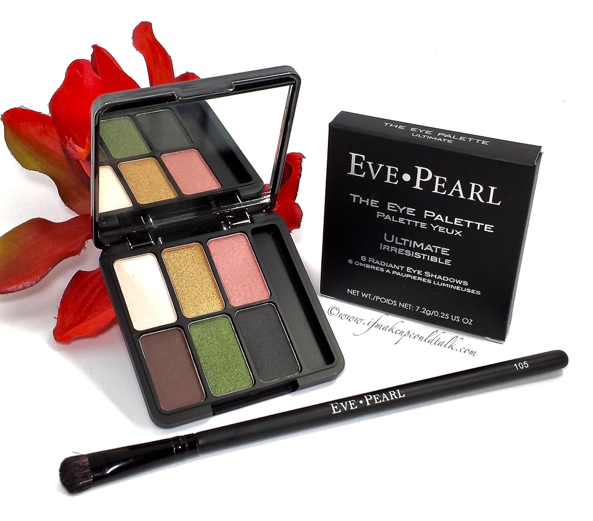 Eve Pearl Ultimate Eye Palette And 105