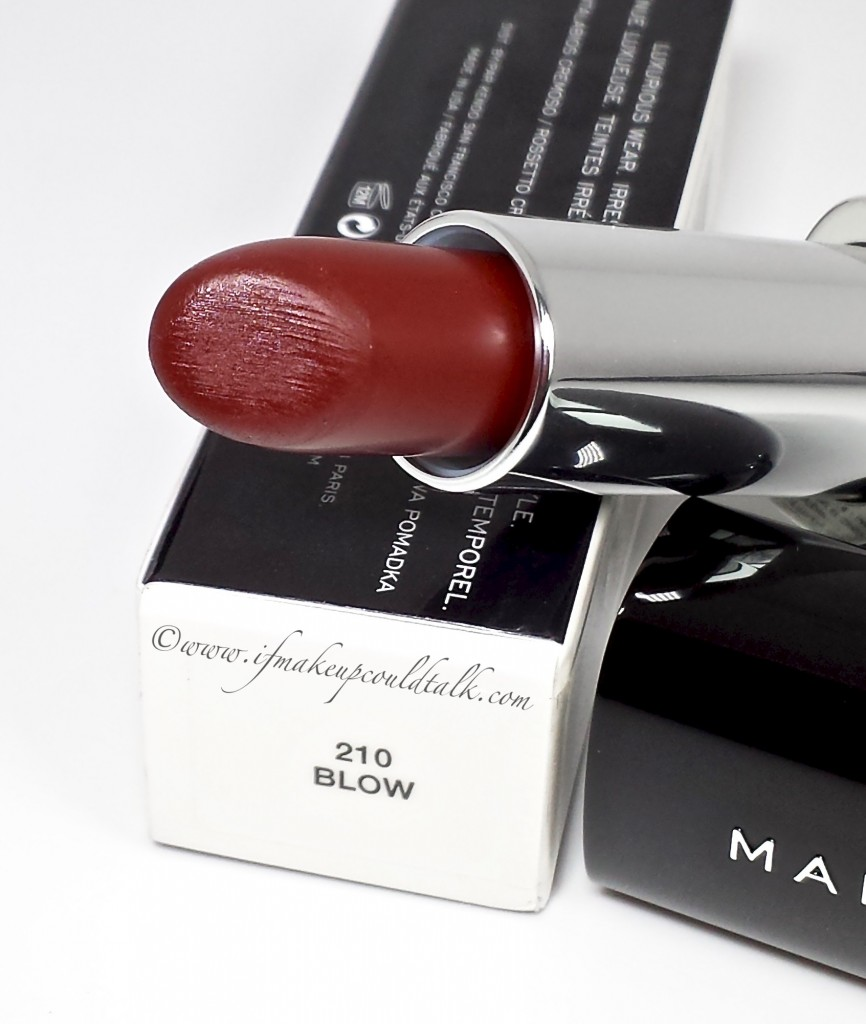 Marc Jacobs Blow Lipstick.