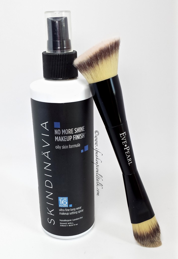Skindinavia Setting Spray with Eve Pearl 201 Brush.