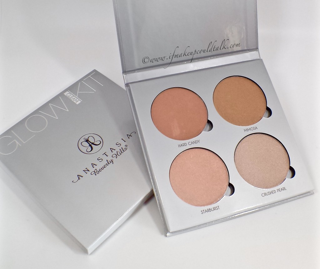 Anastasia Beverly Hills Gleam Glow Kit review and photos.