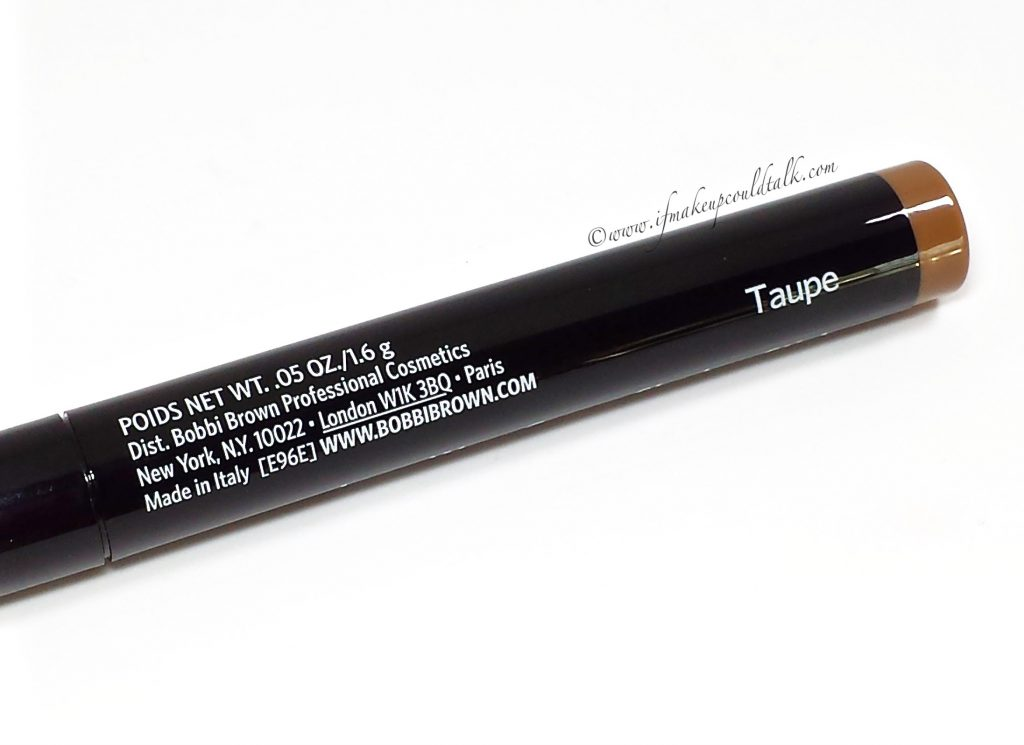 Bobbi Brown Taupe Long-Wear Cream Shadow Stick.