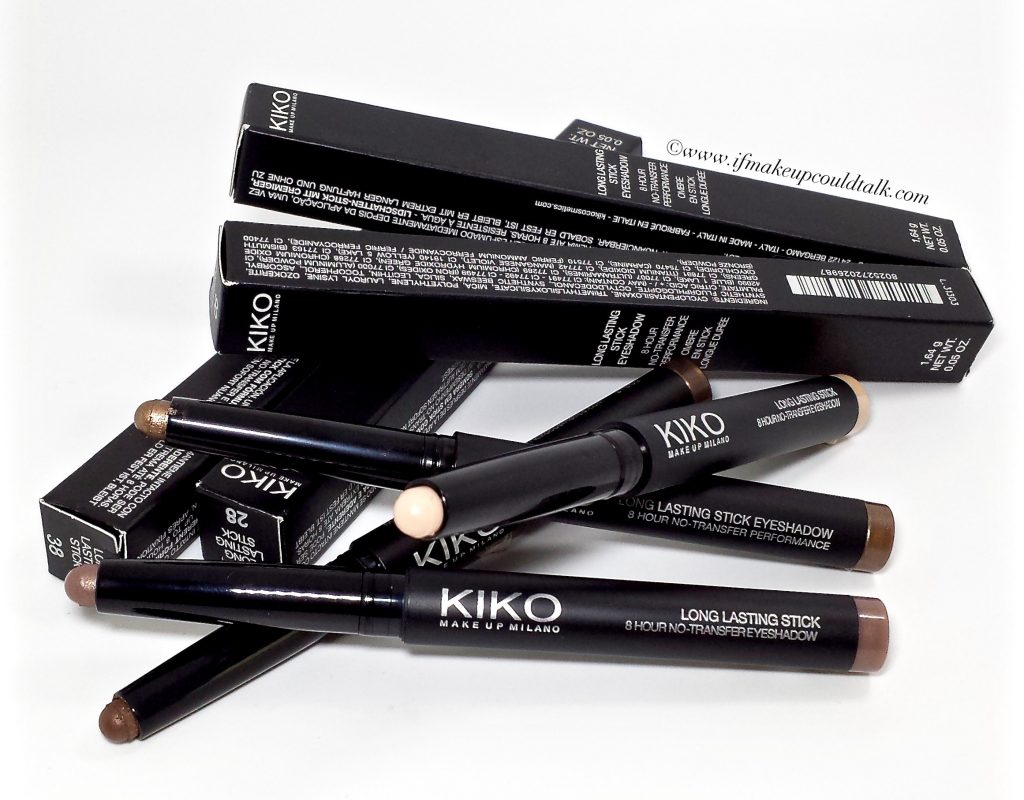 Kiko Long Lasting Stick Eyeshadow.