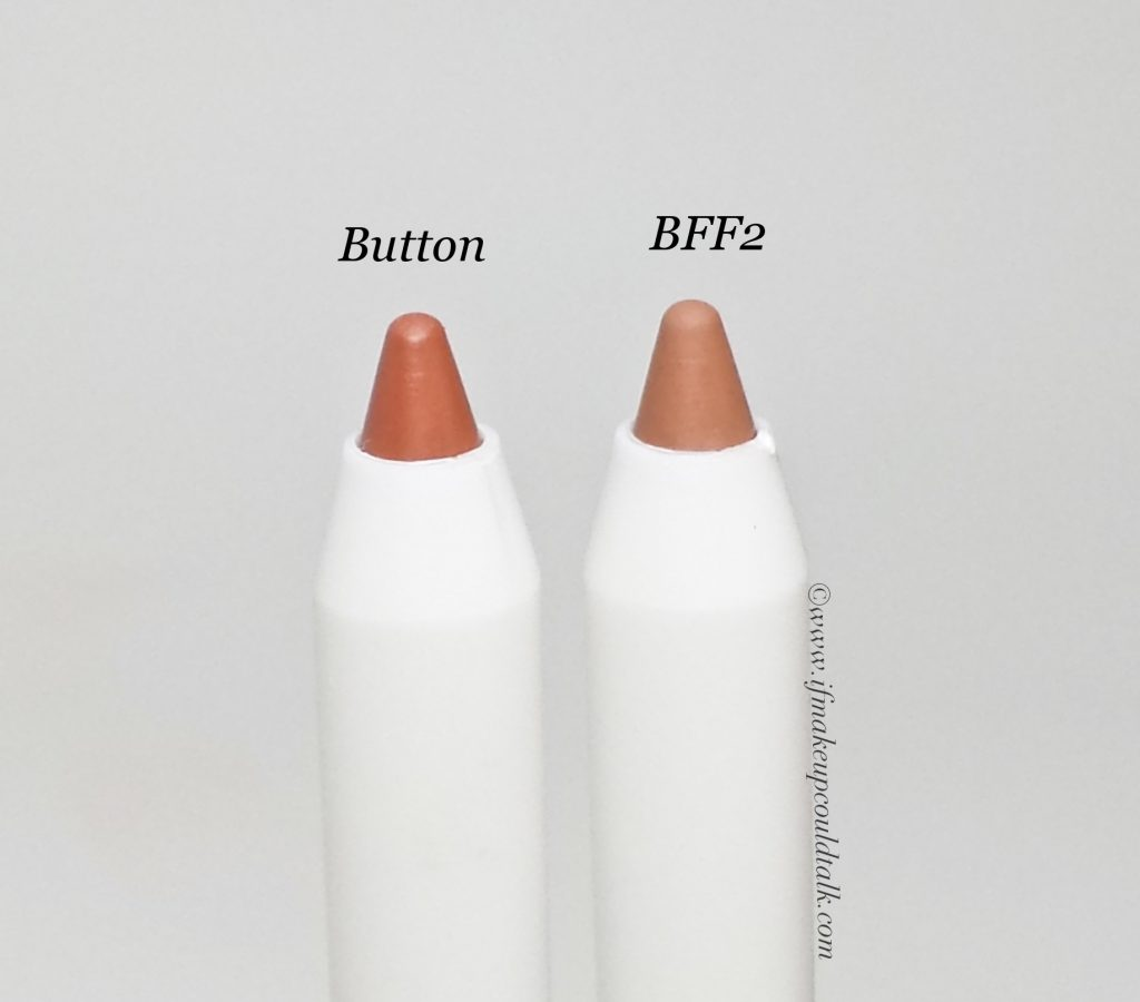 Colourpop Button and BFF2 Lippie Pencils.