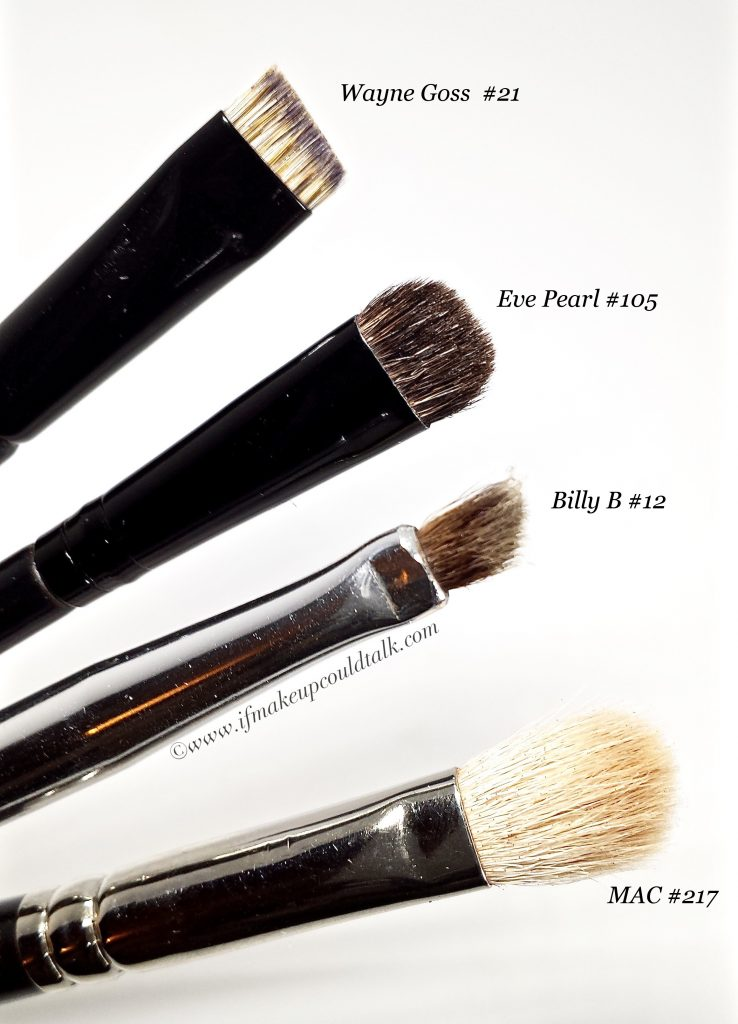 Makeup eye brushes.