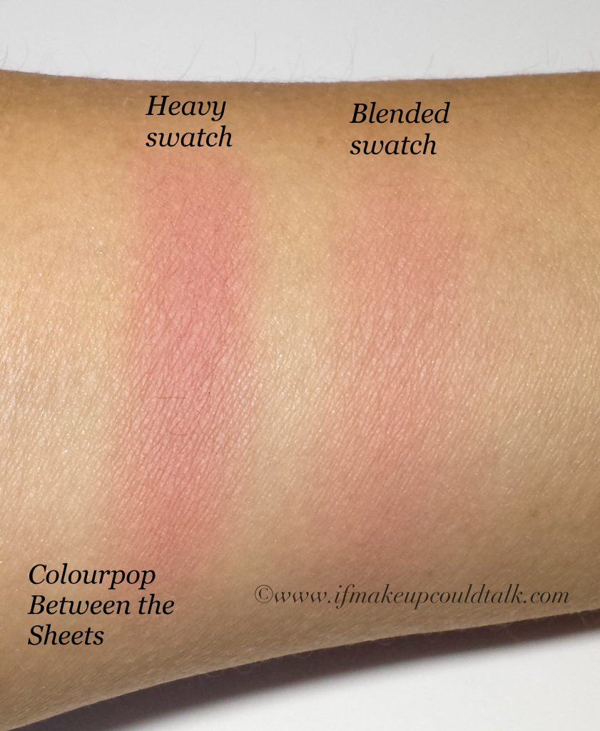 Colourpop Flutes and Between the Sheets review. - If ...