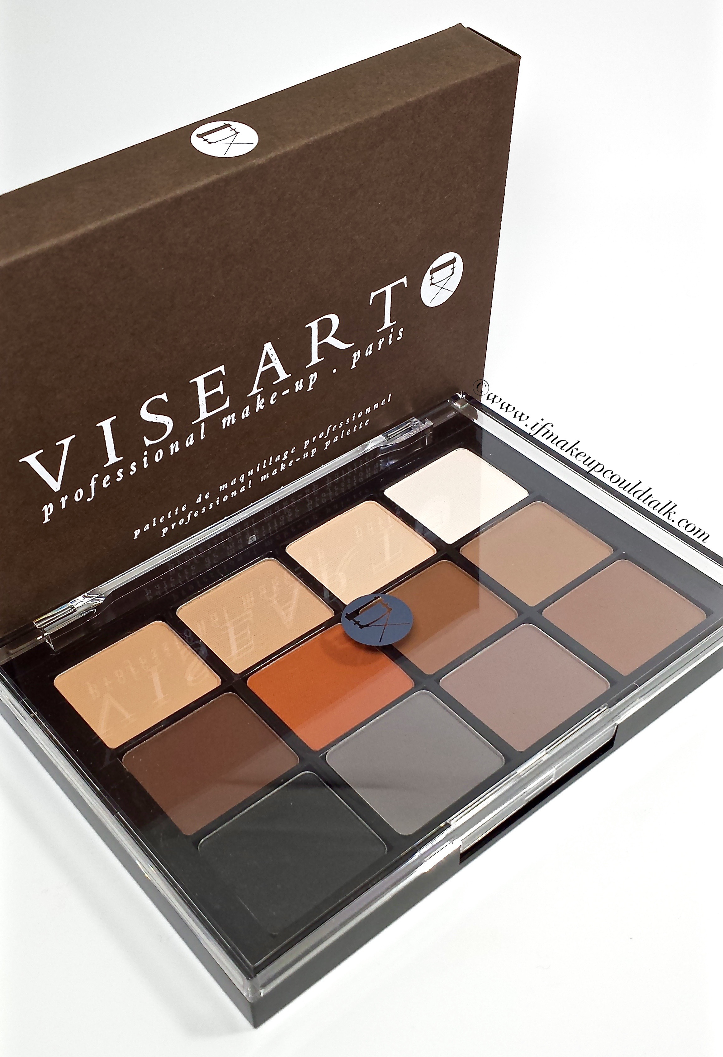 Viseart 01 Neutral Matte Eye Palette Review And Swatches If 06 Paris Nudes Makeup Could Talk