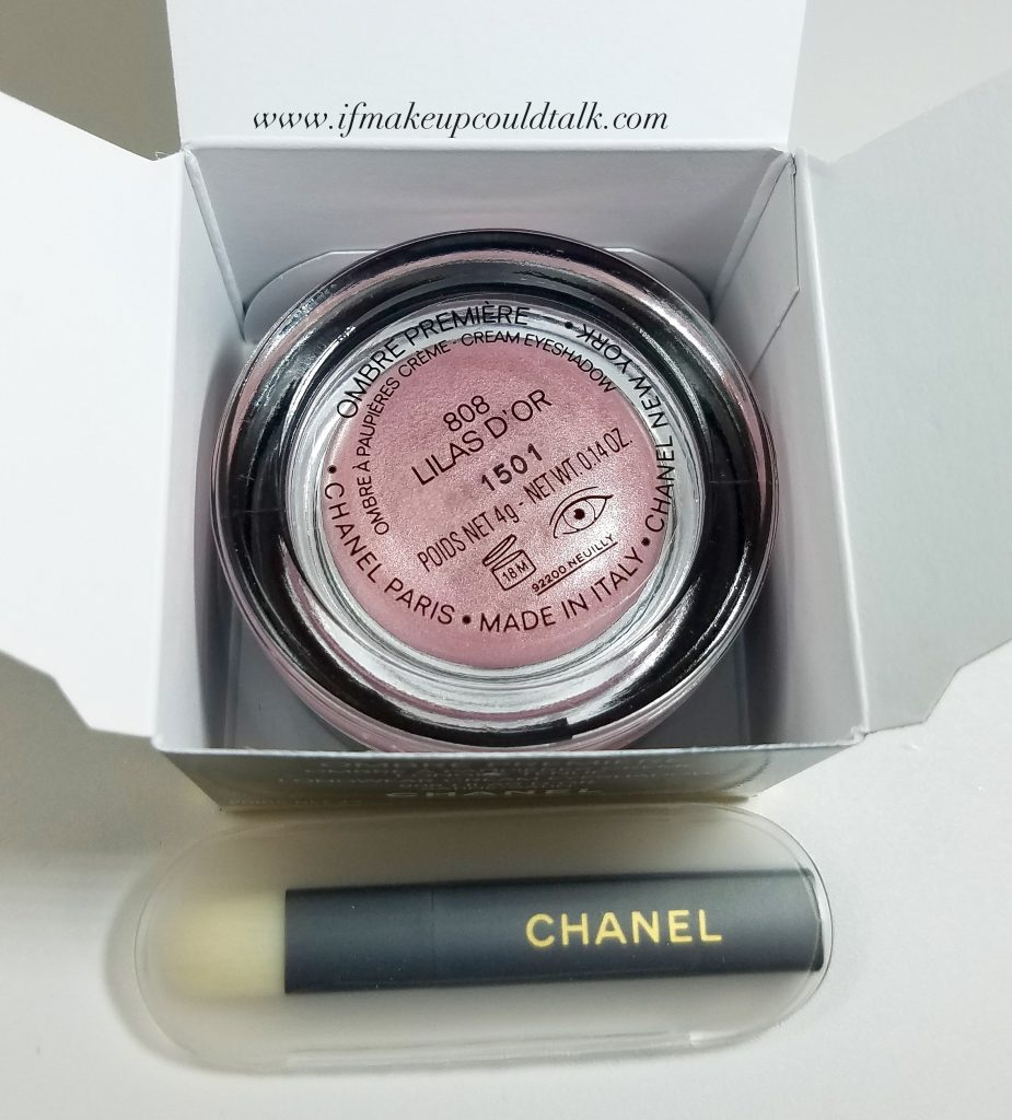 Chanel 808 Lilas D'Or.