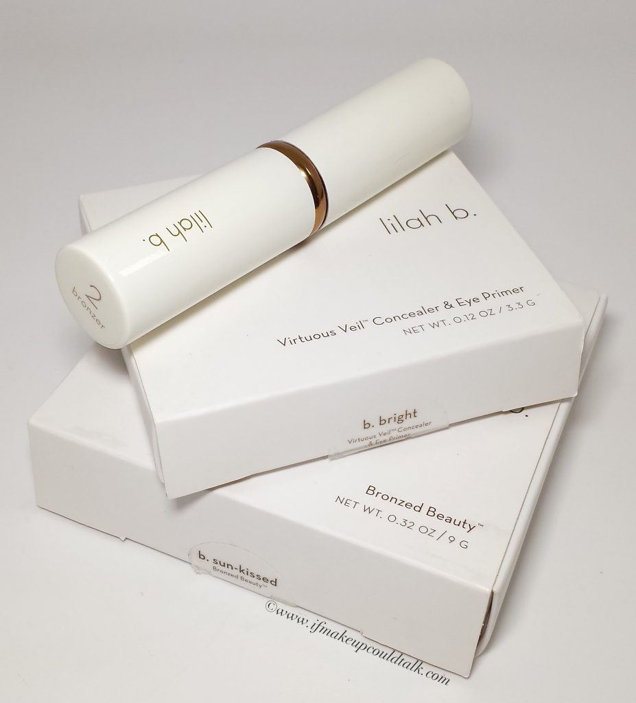 Lilah B. Beauty packaging.
