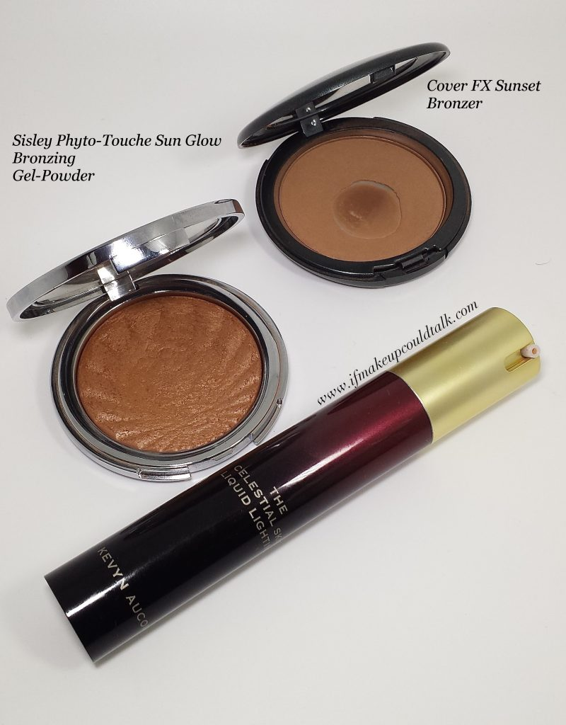 New Makeup Discoveries: Sisley Bronzer, CoverFX Bronzer, Kevyn Aucoin Candlelight Liquid Lighting,