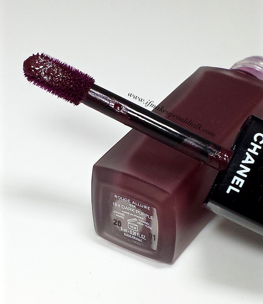 Chanel 184 Dark Purple.